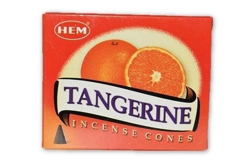鎖生活郵便番号Nature 's Enlightenment Tangerine?–?Incense円錐pack- 10?Cones