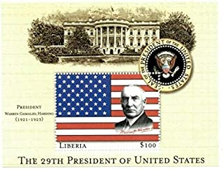 warren g harding stamp