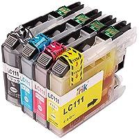 互換インクカートリッジ 4色セット ICチップ付 LC111-4PK LC111