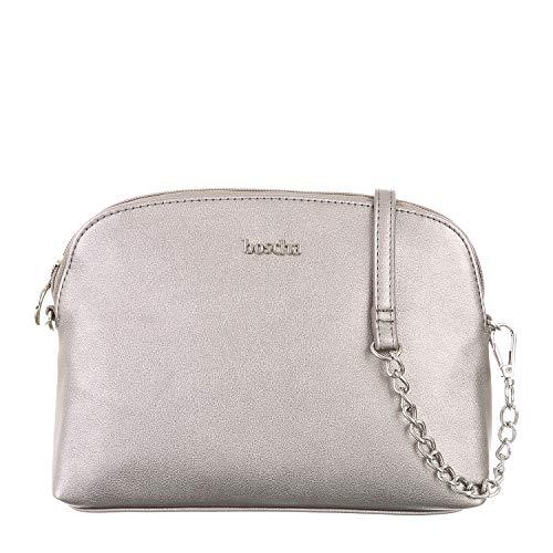Boscha Handtasche Grey, 23 x 6,5 x 17,5, Damen