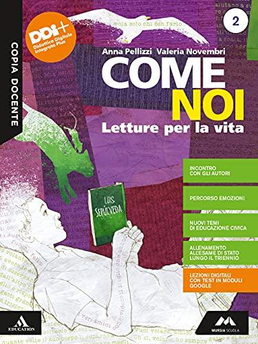 Come noi. Letteratura. Per la Scuola media. Con e-book. Con espansione online (Vol. 2)