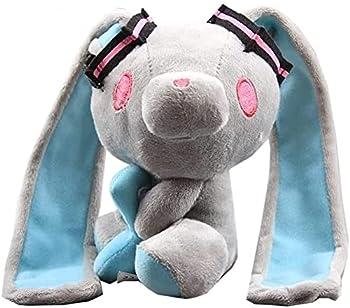 Gloomy Bear Bunny Plush Hatsunee Miku Gloomy Bunny Gray Soft Stuffed Animal Baby Doll Toys Home Decorations Cute Anime Kawaii Lovely Kids Birthday Gifts - 7inch Height