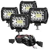 TURBO SII - LED Pod Lights 4 Inch 60W...