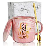 SEVENS Best Mom Ever Coffee Mugs Set for Mother's Day and Mother Birthday