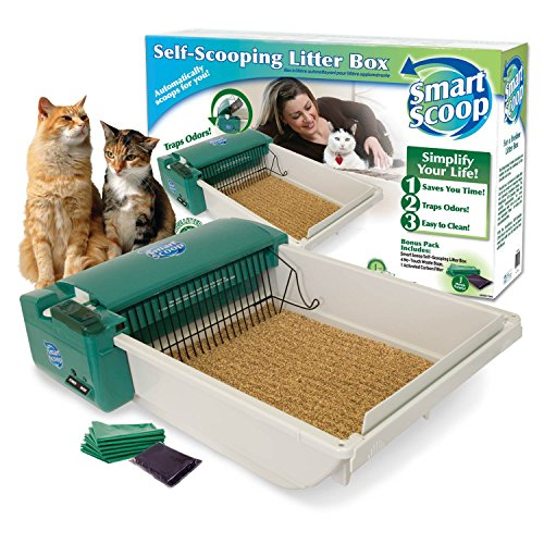 SmartScoop Green DS Automatic Litter Box