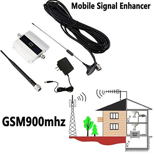 WUBAILI 900 MHz gsm 2G / 3G / 4G WiFi Amplificador de señal de Refuerzo repetidor WiFi Extender de Largo Alcance Wi-Fi Amplificador de la señal de Antena para teléfono Celular
