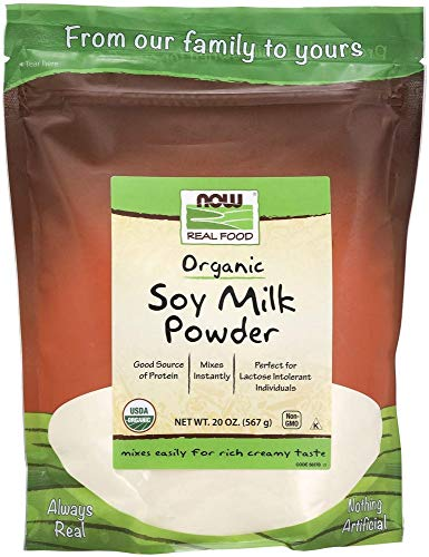 Now Foods Organic Soy Milk Powder, 20 oz