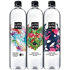 LIFEWTR Premium Purified Water 11 Includes 12 (700ml) bottles of Lifewtr Premium Purified Water with an easy to use flip cap for on-the-go hydration Introducing a new canvas for artists. LIFEWTR series 8 features three limited run label motifs designed by Lilian Martinez, Tofer Chin, and Sarah Zapata LIFEWTR 'Unconventional Canvas' Series, in partnership with Frieze, will champion equal access to arts.