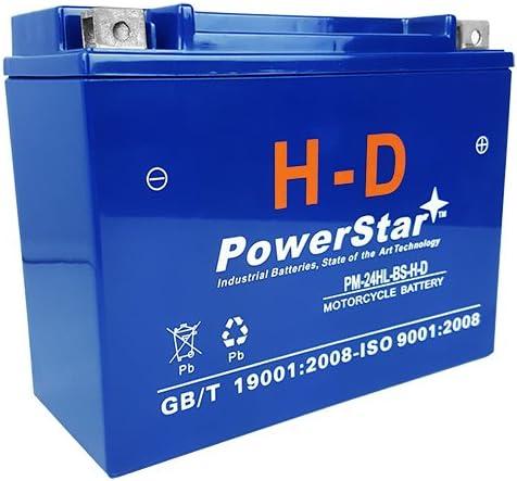 PowerStar HD YTX24HL-BS 12V 24Ah for UTV Battery Super Special SALE held Minneapolis Mall Motorcycle ATV