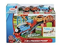 きかんしゃ トーマス アニー クララベル 付き レース キット Thomas & Friends Thomas and Friends Fisher-Price 3-in-1 Package Pickup [並行輸入品]