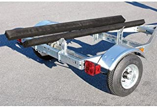 C.E. Smith Multi-Sport 11ft.8in. x 4ft.6in. Galvanized Steel Jet Ski and Watercraft Trailer - 800-Lb. Load Capacity, Model Number 48810