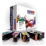 Pack 4 compatible DELL C1660 (BK/C/M/Y) - Supérieure Qualité Toner pour DELL C1660 DELL C1660W