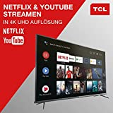 TCL 50EP660 Fernseher 126 cm (50 Zoll) Smart TV (4K UHD, HDR10, Micro Dimming Pro, Android TV, Prime Video, Alexa kompatibel, Google Assistant) Brushed Titanium - 7