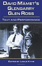 David Mamet's Glengarry Glen Ross (Studies in Modern Drama)