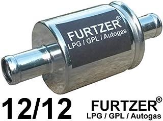 Furtzer® LPG GPL Autogas Filter 12 mm / 12 mm, Gasfilter, 1 Stück