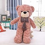 stogiit Große Fliege Umarmung Bär Plüschtier Teddybär Puppe Online-Shop Mädchen Geburtstagsgeschenk Bohnenpaste rot 120 cm