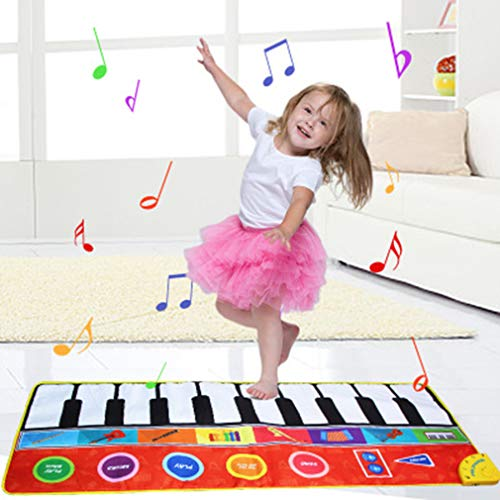 Best Price Kids Musical Mats Education Toy Music Singing Carpet Mat Toy Early Educational Toys, 8 Se...