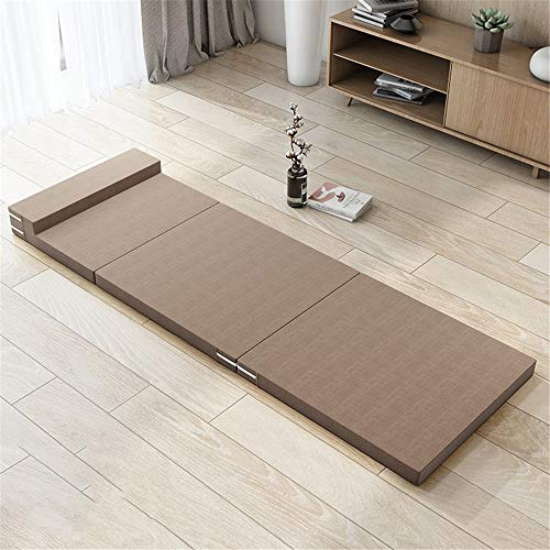 Colchón de Invitados Multifuncional plegable colchón de esponja ahorra espacio estera Sofá...