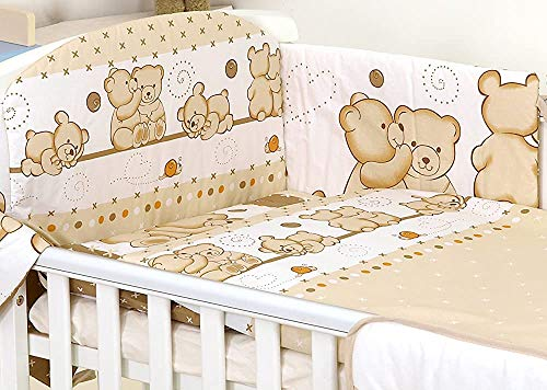 Baby Bedding Package, Three Packages Crib, Duvet Covers - Pillow Cases - Bumper for The Crib,COT 120X60