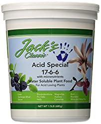 J R Peters Jacks Classic No.1.5 17-6-6 Acid Special Fertilizer