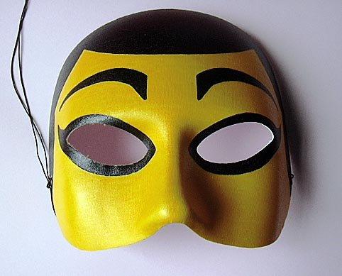 Stilvolle Halb-Maske