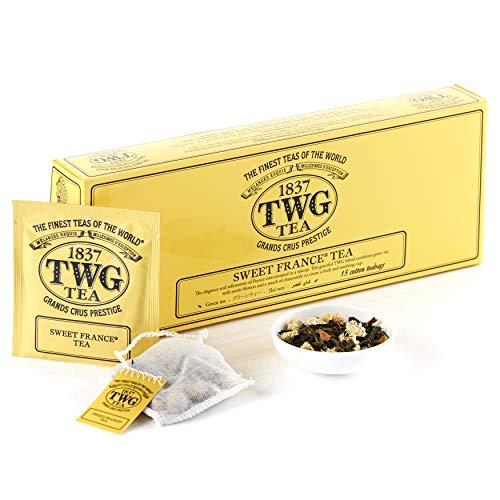 TWG Tea |Sweet France Tea(コットンティーバッグ , 2.5g×15個入り)