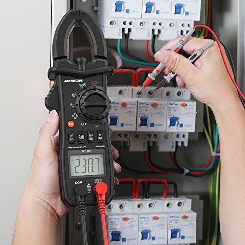 Pinza digital Multímetro, Meterk Avanzado Pinza Multimeter Detección de...