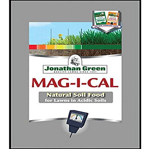 Jonathan Green Fertilizer, 1000 sq. ft. Jonathan Green & Sons, 11348 Mag-I-Cal Coverage Pelletized Calcium Fer, 1,000, Yellow