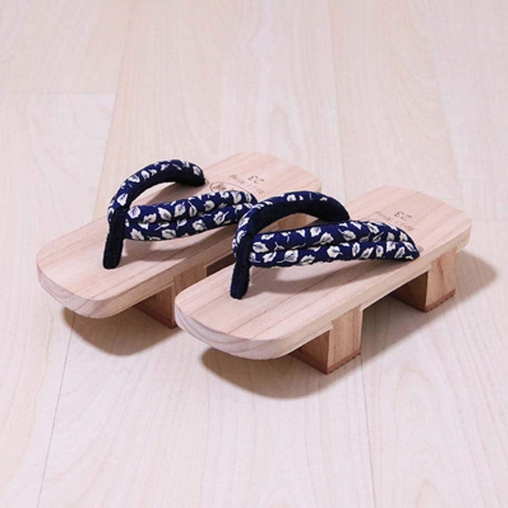 Japanse traditionele schoenen Cosplay slippers houten klomp Geta sandalen Veelkleurig-06