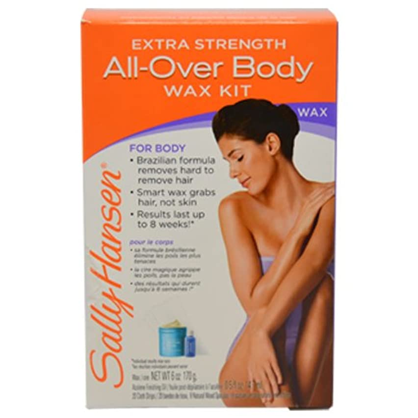 Sally Hansen Extra Strenth Body Wax Kit, Pack Of 1