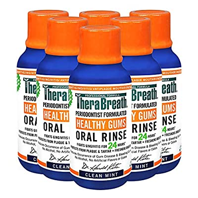 TheraBreath 24 Hour Healthy Gums Periodontist Formulated Oral Rinse
