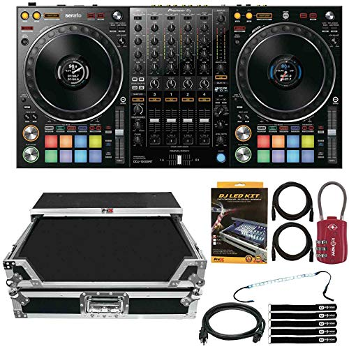 Pioneer DDJ-1000SRT 4-Channel Club DJ Controller for Serato DJ Pro w Flight Case