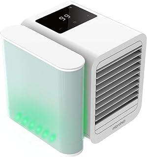 N/X Meet U Microhoo - Ventilador pequeño para el hogar, pequeño ventilador de aire acondicionado