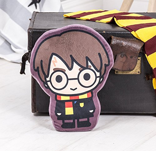 Official Harry Potter Bold Kids Shaped Cushion Pillow | Stuffed Plush Shaped Pillow | Perfect For Any Bedroom Or Nursery