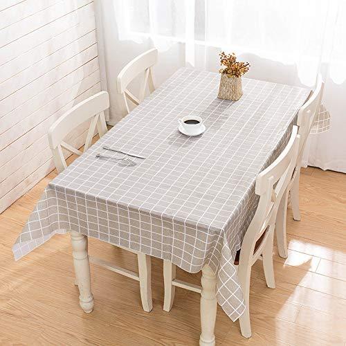 sans_marque Paño de mesa, cubierta de mantel, cubierta de mesa, paño de mesa simple, alfombra de mesa adecuada para decoración de cocina casera 137* 180 cm