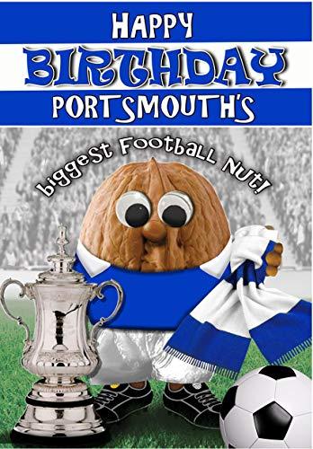 Birthday Card – Portsmouth FC - Football Sports Nut