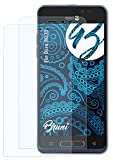 Bruni Schutzfolie kompatibel mit Doro 8035 Folie, glasklare Bildschirmschutzfolie (2X)