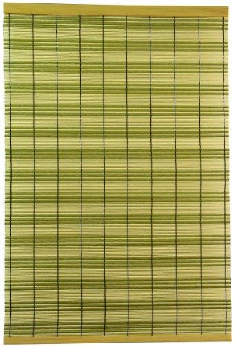 三宅製簾すだれPP市松88×180グリーン51134