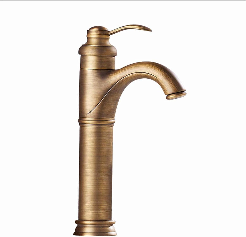JONTON Faucet faucet faucet antique copper basin low lead wash basin above counter basin basin