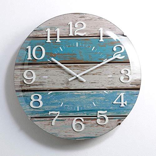 HYY-YY Wanduhr Wohnzimmer Persönlichkeit Kreativ Nordic Leise Einfache Uhr Home Trend Dekorative Diagramm