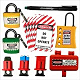 Lockout Tagout Loto Kit-81 Set Of 1 Safety House Loto