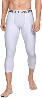 Under Armour Men's Comfortable and Robust Gym Leggings, Lightweight and Elastic Thermal Underwear with Compression Fit