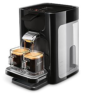 Senseo Quadrante HD7865/60 - Cafetera (Independiente, Máquina de café en cápsulas, 1,2 L, Dosis de café, Negro)