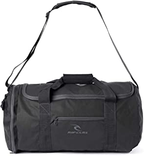 Rip Curl Men's Large Packable 50L Duffle Bag Mesh Black