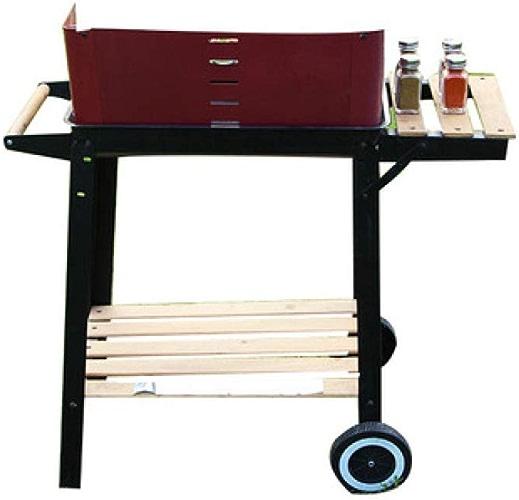SUNHAO Barbecues à Charbon Poêle à Griller Portable pour la Maison en Acier Inoxydable