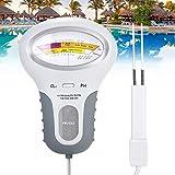 Medidor de cloro, pH y cloro Cl2, medidor de nivel para piscina, spa, con sonda