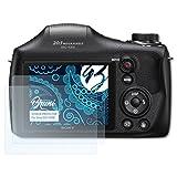 Bruni Película Protectora Compatible con Sony DSC-H300 Protector Película, Claro Lámina Protectora (2X)