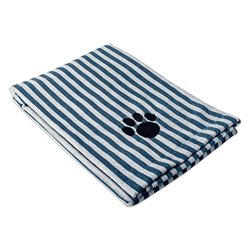 Bone Dry Embroidered Pet Towel, 44 x...