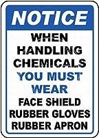 Wear Face Shild ティンサイン ポスター ン サイン プレート ブリキ看板 ホーム バーために