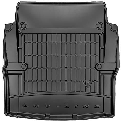 DBS Tapis de Coffre Auto - sur Mesure - Bac de Coffre pour Voiture - Rebords Surélevés - Caoutchouc Haute qualité - Antidérapant - Simple d'entretien - 1766540
